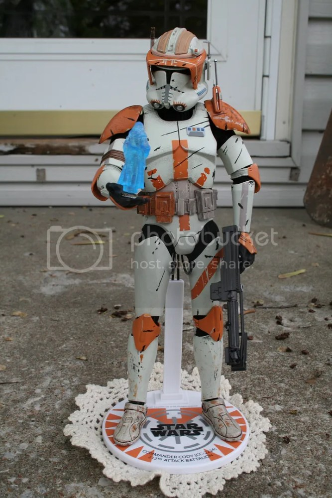 Sideshow Collectibles Star Wars Commander Cody Review (2/6)