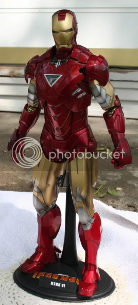 Hot Toys Iron Man 2 Mark VI Review (1/6)