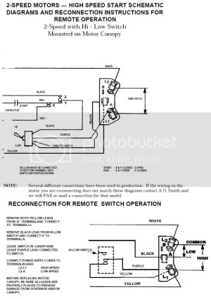Need Help Wiring Switch to 2Speed Pump