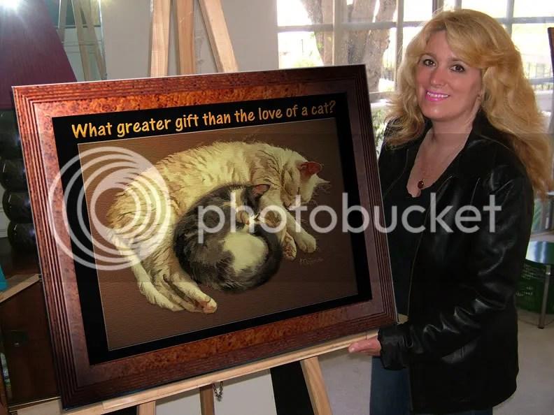 artist mckenzie-painting-cats-humane society