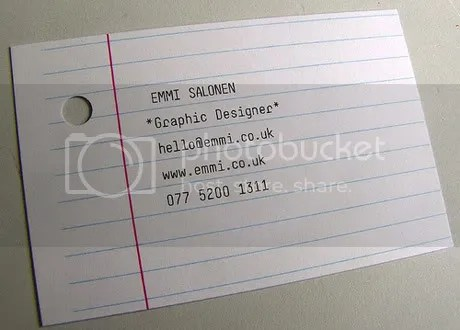 tarjeta22 Tarjetas de Presentación Creativas