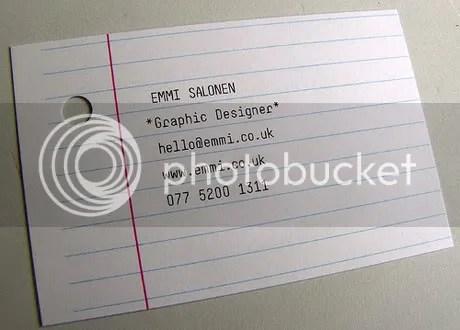 Tarjetas de Presentación Creativas - tarjeta22