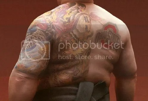 It's called a yakuza tattoo. I don't know the significance of it,