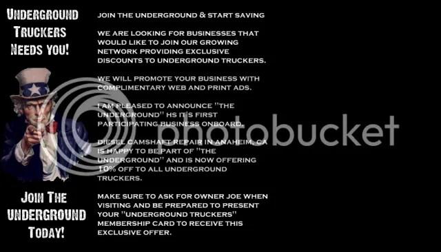 Underground Truckers