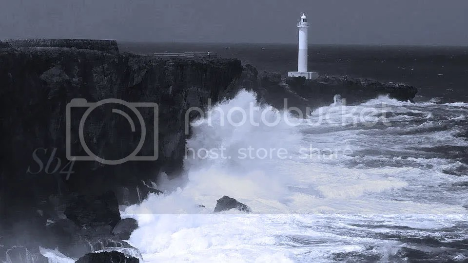 photo Cape Zanpa 5 BW WM_zps15veu1bp.jpg