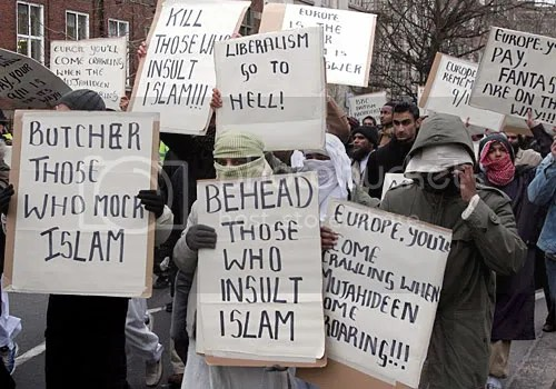 Religion of Peace march