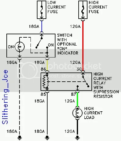 anyone have a bosch 75 amp relay wiring diagram  ford