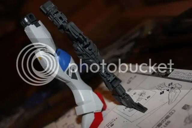 Completed legs inner frame! =D