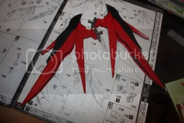 Wing parts finished!