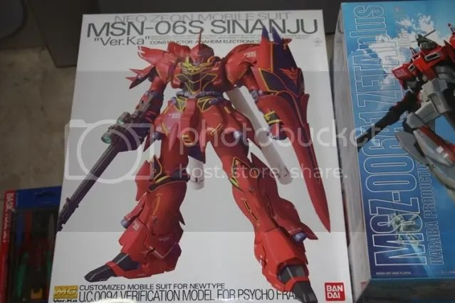 Sinanju!! Arguably one of the more expensive master grades out there! But seeing how awesome he is in person, I guess the price justifies it :P