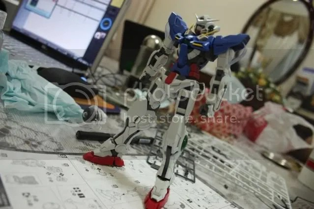 Exia stands!!