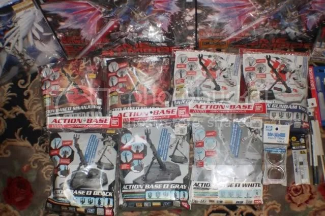 7 packs of Action Base 2