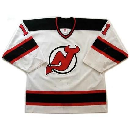 Third String Goalie 2000 01 New Jersey Devils John Madden Jersey