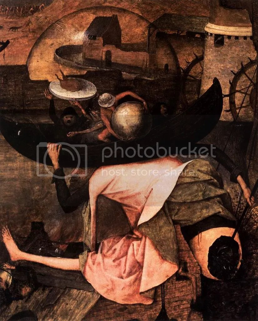 Brueghel-Dulle Griet,c. 1562 (detalhe)