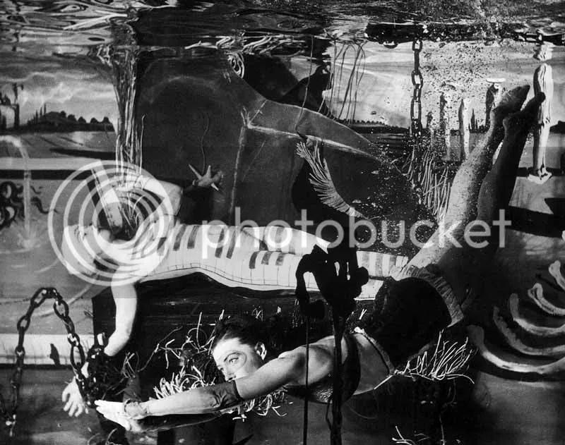 Salvador Dali, Living Liquid Ladies, Dreams of Venus, New York World's Fair, 1939