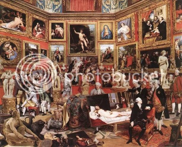 John Zoffany Tribuna degl' Uffizi, 1772-78
