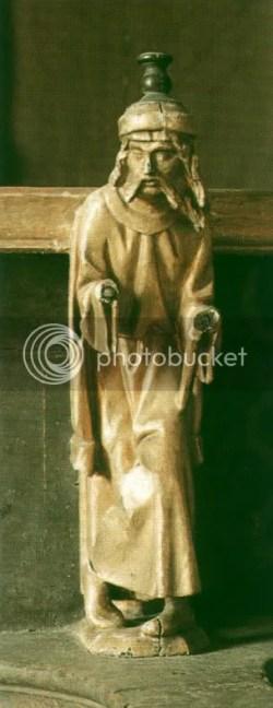 mouro a fazer um slamaleque, cadeiral de S.ta Cruz de Coimbra, c. 1513-18