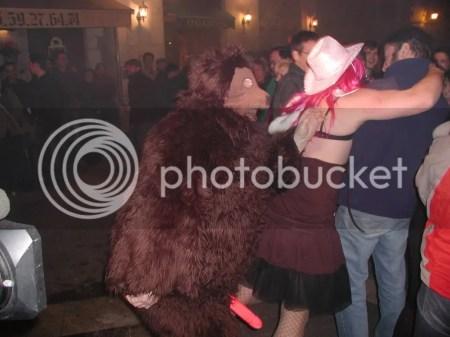 festa do urso em França-urso da Candelária