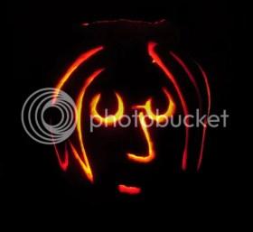 John Lennon Pumpkin