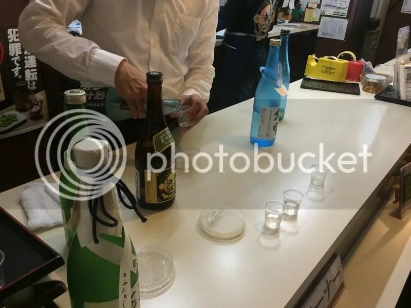 Takasago Sake tasting