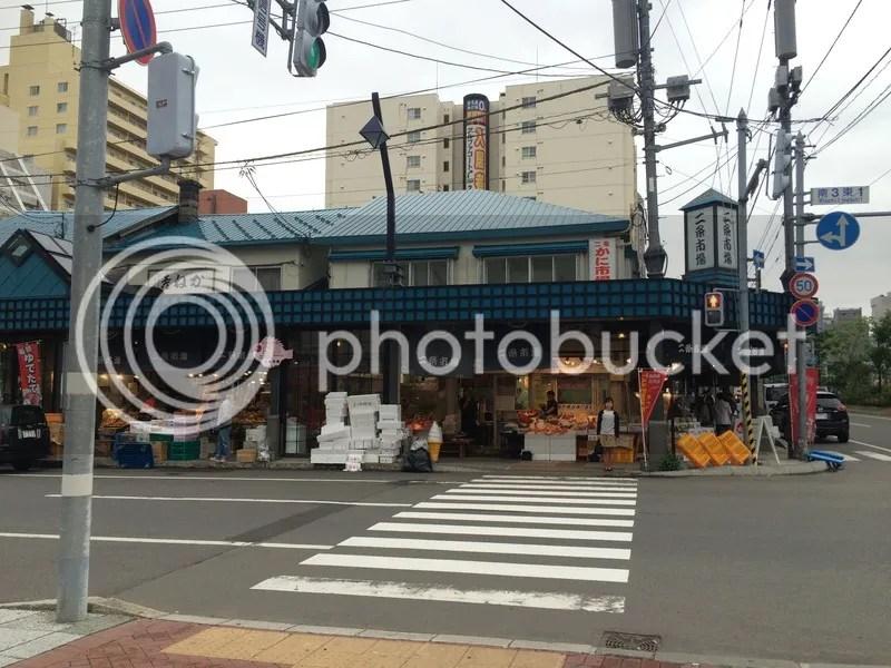 Nijo market sapporo