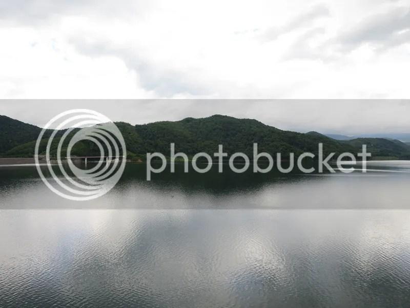 camping dam site