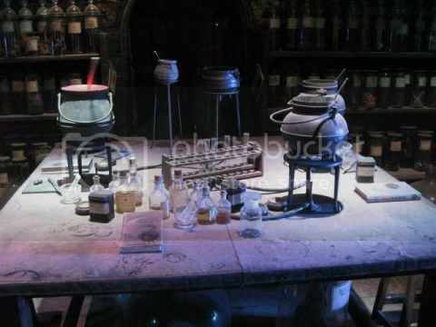Inside the potions classroom.. photo 292529_10151056668161209_840946933_n.jpg