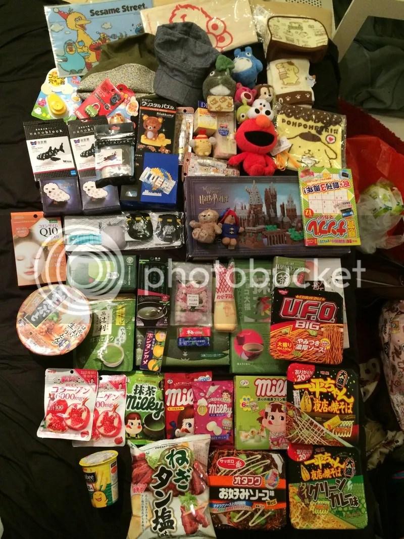 Japan shopping photo