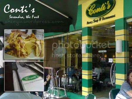 Conti's Pastry Shop and Restaurant