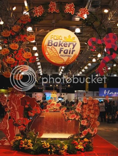 Bakery Fair 2013 inside logo display