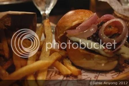 Borough_portobello mushroom burger