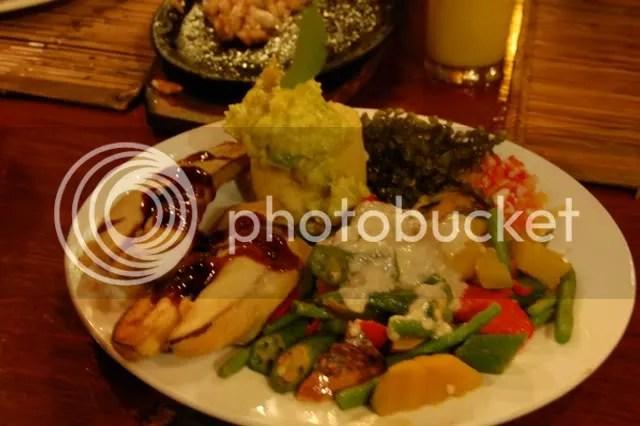 Kalui Veggie Platter