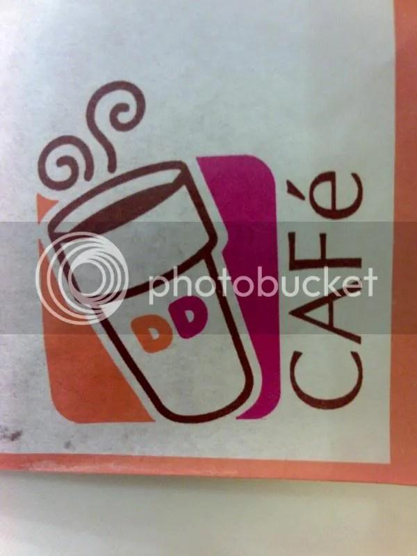 Dunkin Donuts Cafe logo