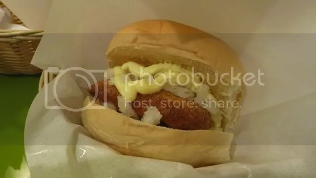 SANGO_Fish Burger