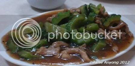Fook Yuen_pork with ampalaya