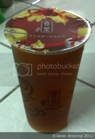 Gong Cha_wintermelon alisan tea