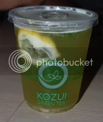 KOZUI_moji mint tea