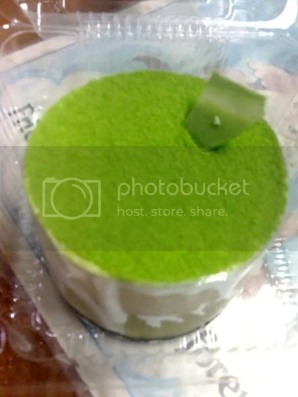 KOZUI_green tea cheesecake