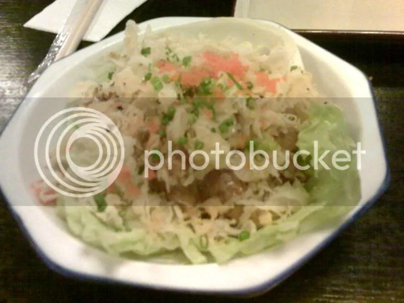 OMAKASE_spicy tuna salad