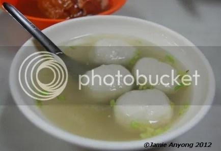 fish ball soup ???
