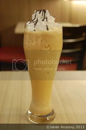 Akiba cafe_choco macadamia iced blended coffee
