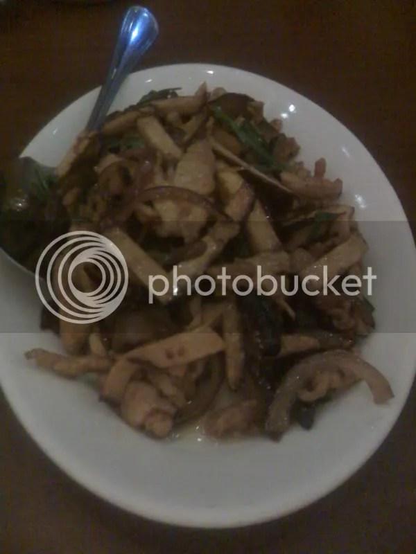 HANOBE_Black Tofu with 3 kinds of mushroom