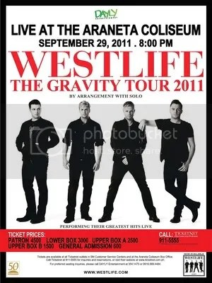 Westlife concert 2011