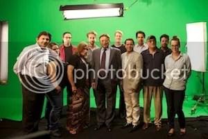 With Pervez Musharraf