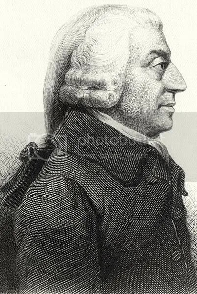 The ten most influential people of the 18th century ian for Ian adam smith
