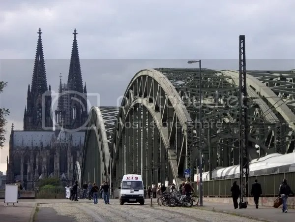 Bridge and Cathedral, before we hit the chaos