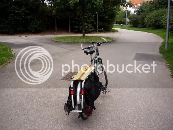 Bike lane in Sillenbuch