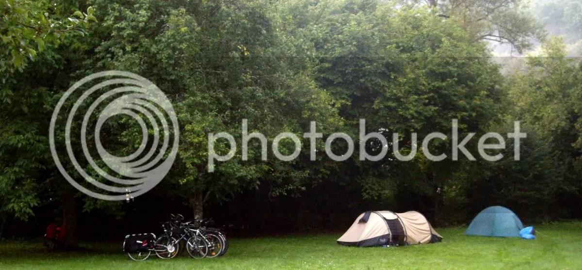Camp in the Neckar Valley