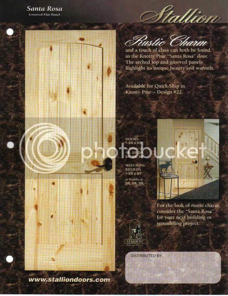 Rustic Knotty Pine Interior Doors Bsg
