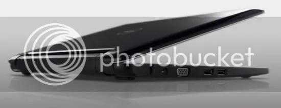 Dell Inspiron 12 tampak samping